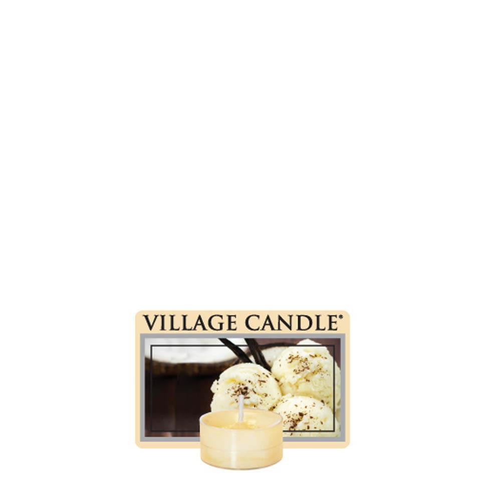 Creamy Vanilla Tea Lights Traditions Scented Candle