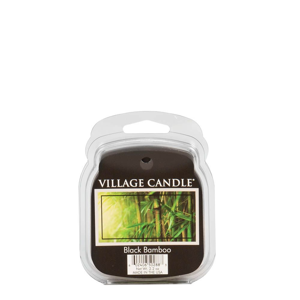 Black Bamboo Wax Melt Traditions Scented Candle