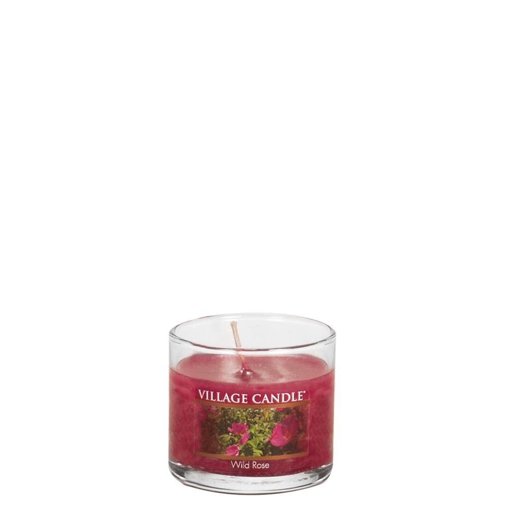 Wild Rose Mini Decor Scented Candle