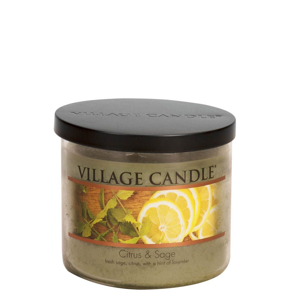 Citrus & Sage Medium Bowl Decor Scented Candle