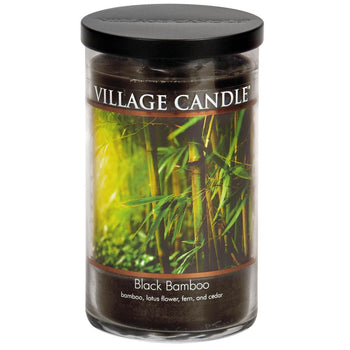 Black Bamboo Large Tumbler Decor Scented Candle