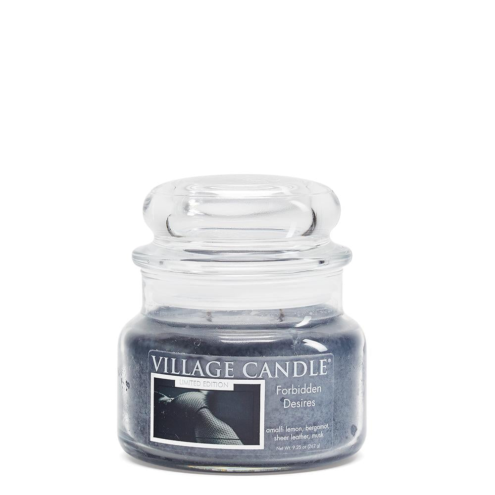 Forbidden Desires Small Glass Jar Limited Edition ML