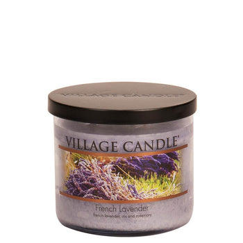 French Lavender Medium Bowl Decor Scented Candle