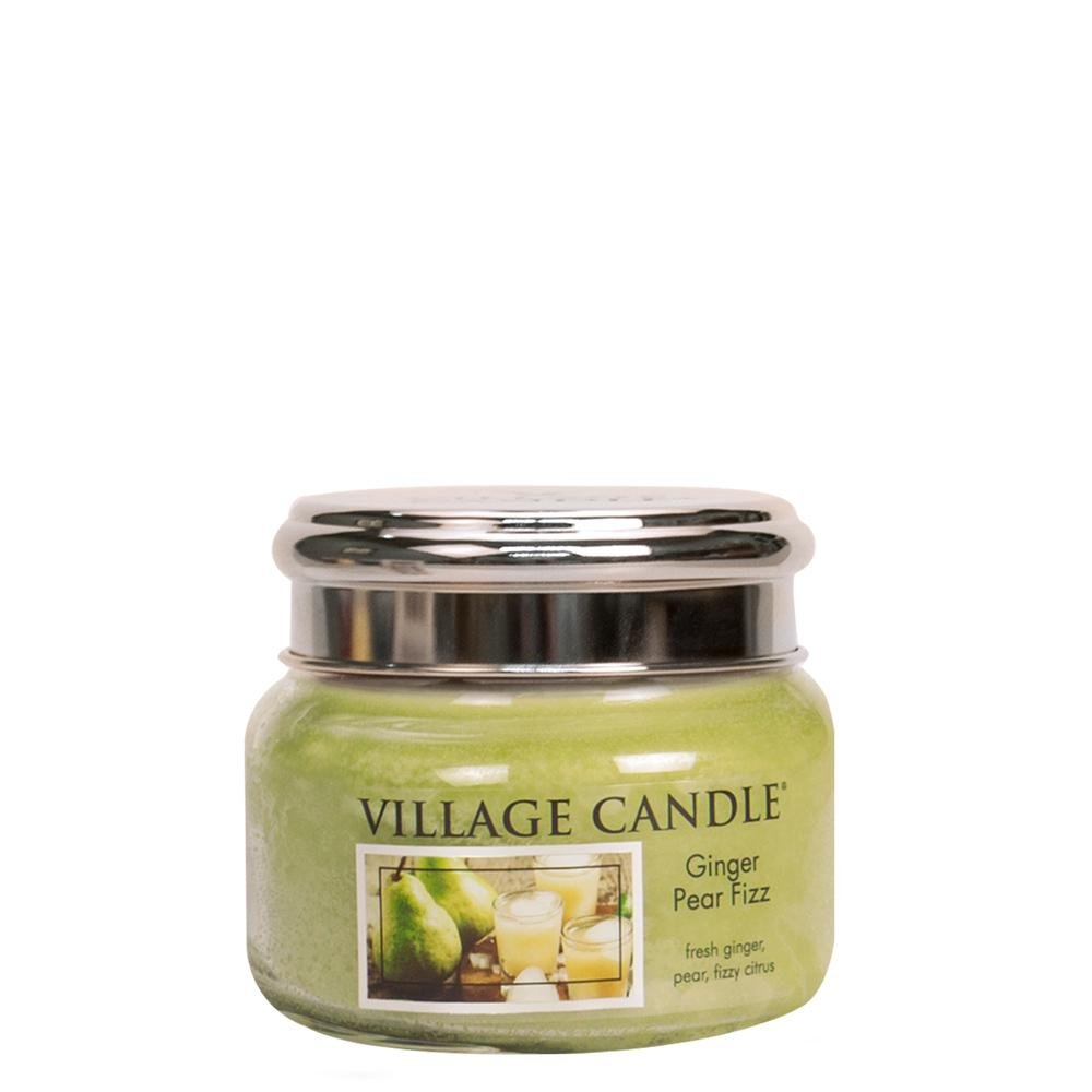 Ginger Pear Fizz Small Glass Jar Traditions Scented Candle