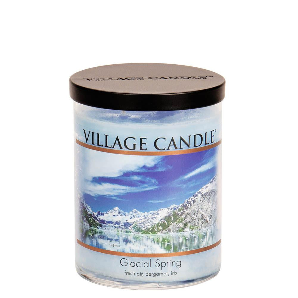 Village Candle Glacial Spring 24 oz Large Tumbler Scented Two Wick Jar Candle