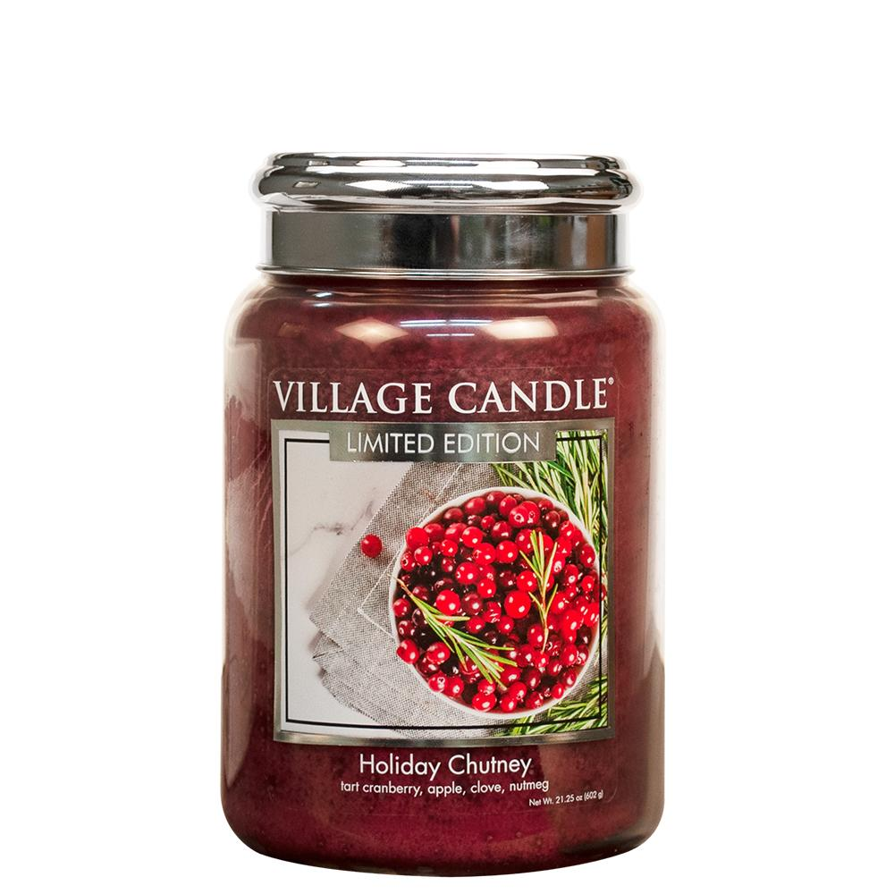 Holiday Chutney Large Glass Jar Limited Edition ML