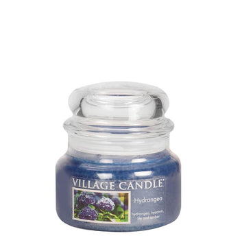 Hydrangea Small Glass Jar Traditions Scented Candle