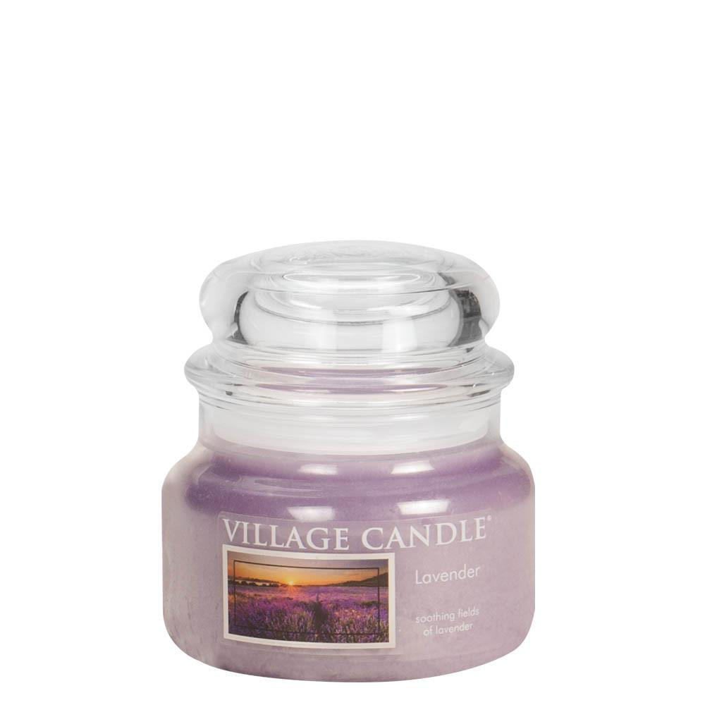 Lavender Small Glass Jar Traditions Scented Candle