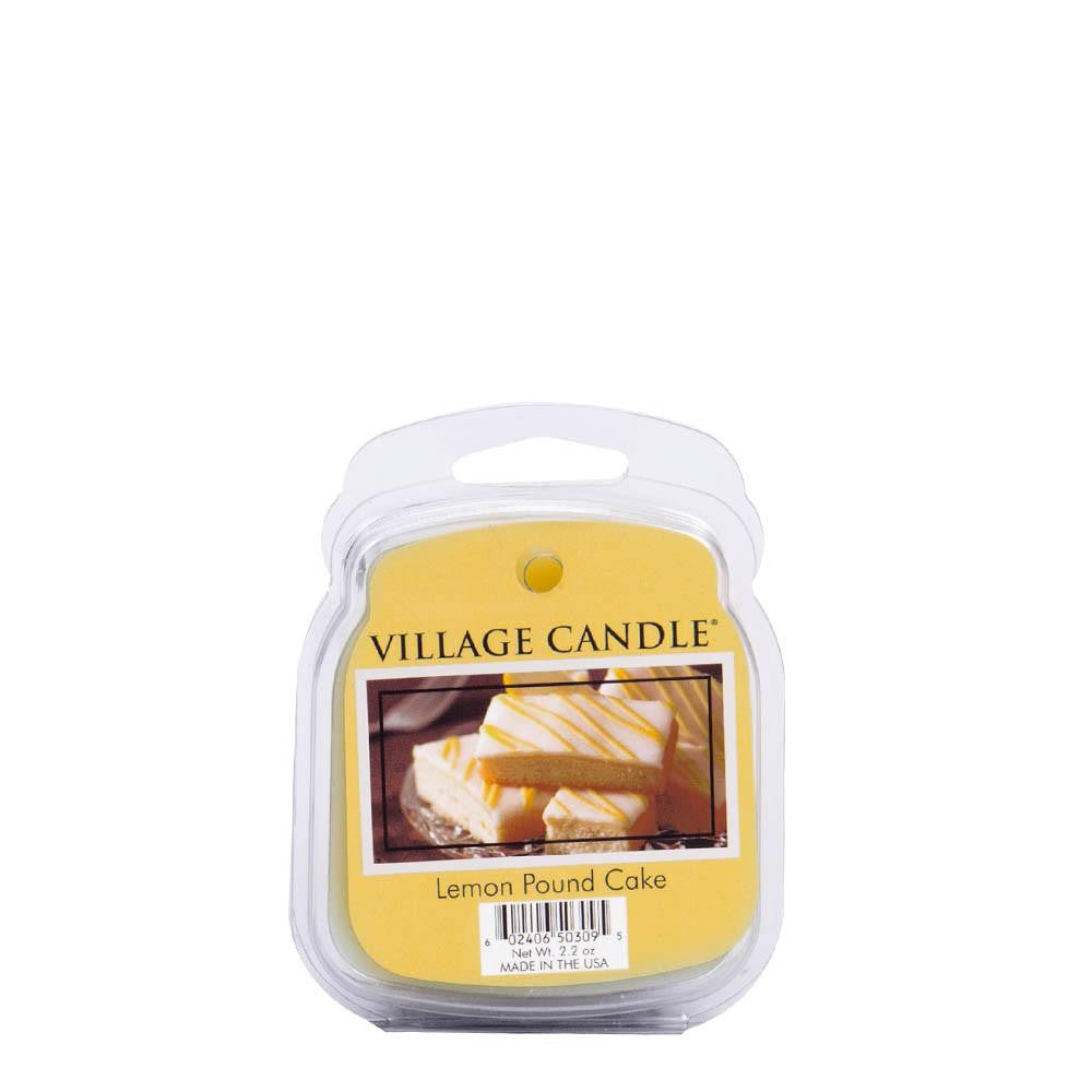 Lemon Pound Cake Wax Melt Traditions Scented Candle