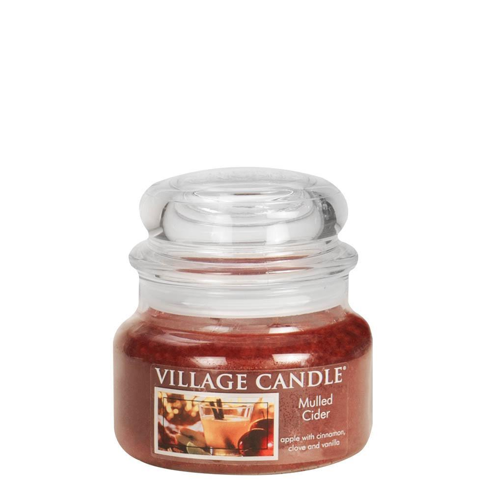 Mulled Cider Small Glass Jar Traditions Scented Candle