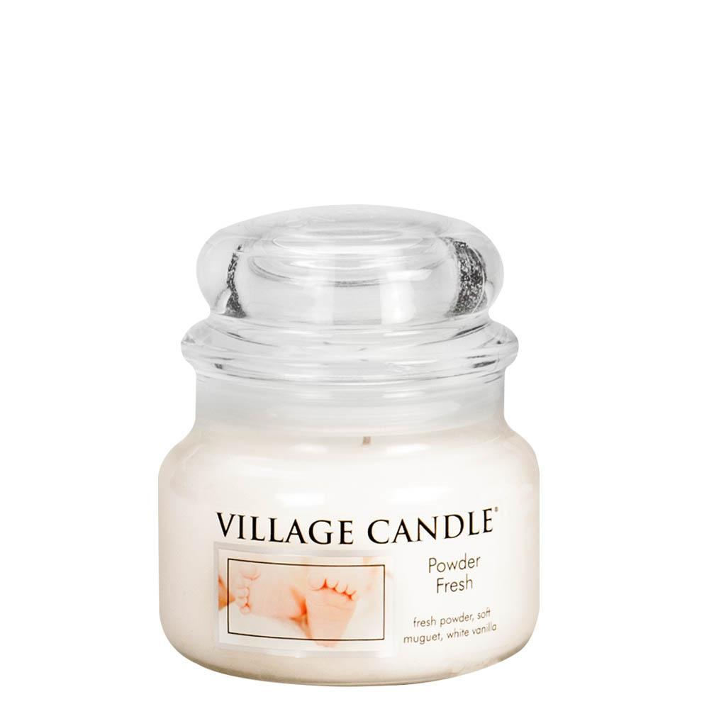 Powder Fresh Small Glass Jar Traditions Scented Candle
