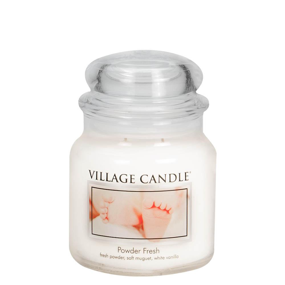 Powder Fresh Medium Glass Jar Traditions Scented Candle