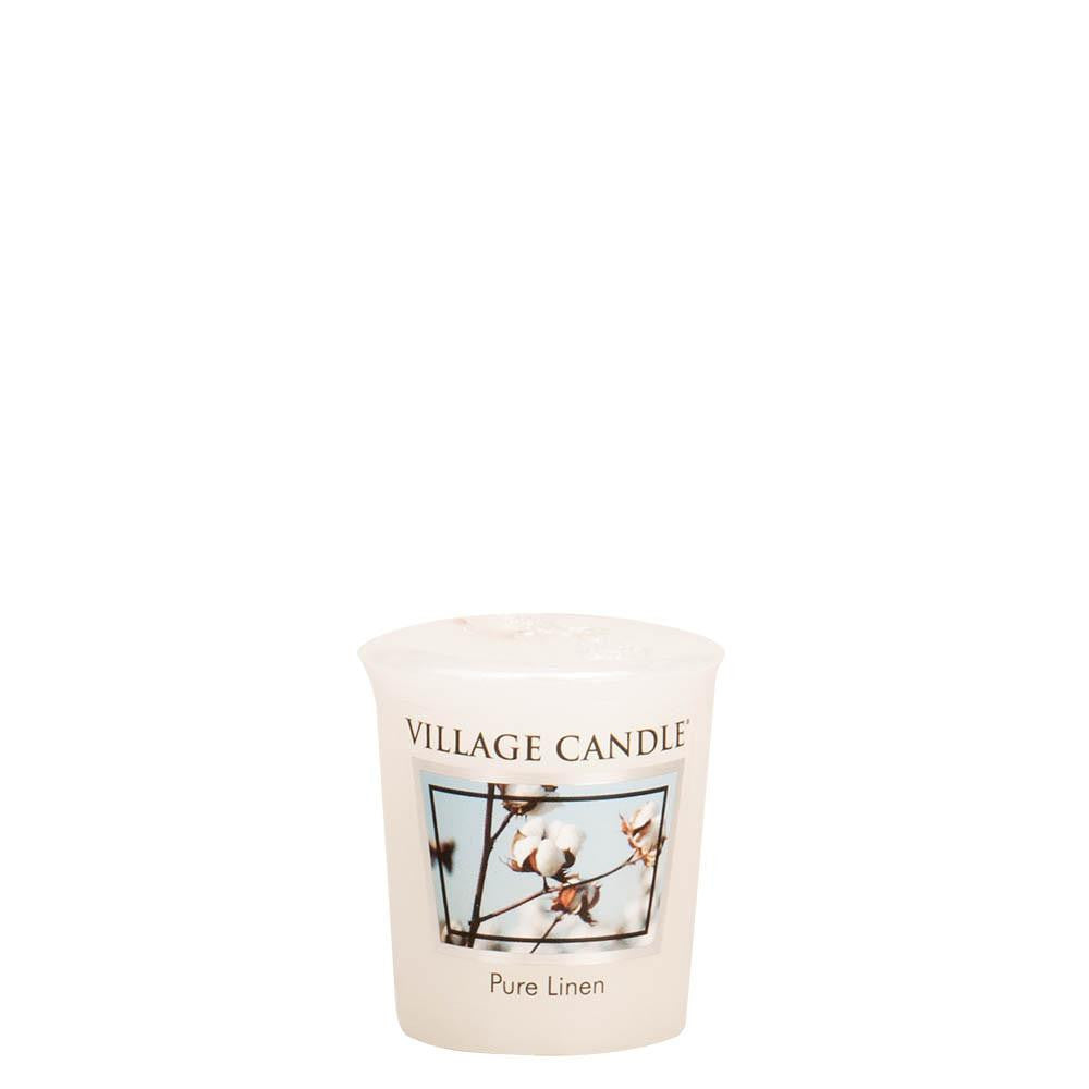 Pure Linen Votive Traditions Scented Candle