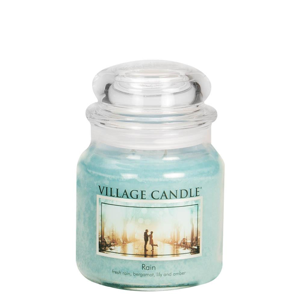 Rain Medium Glass Jar Traditions Scented Candle
