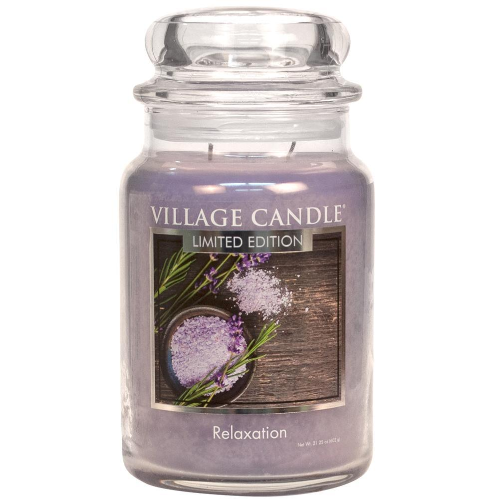 Relaxation Large Glass Jar Spa
