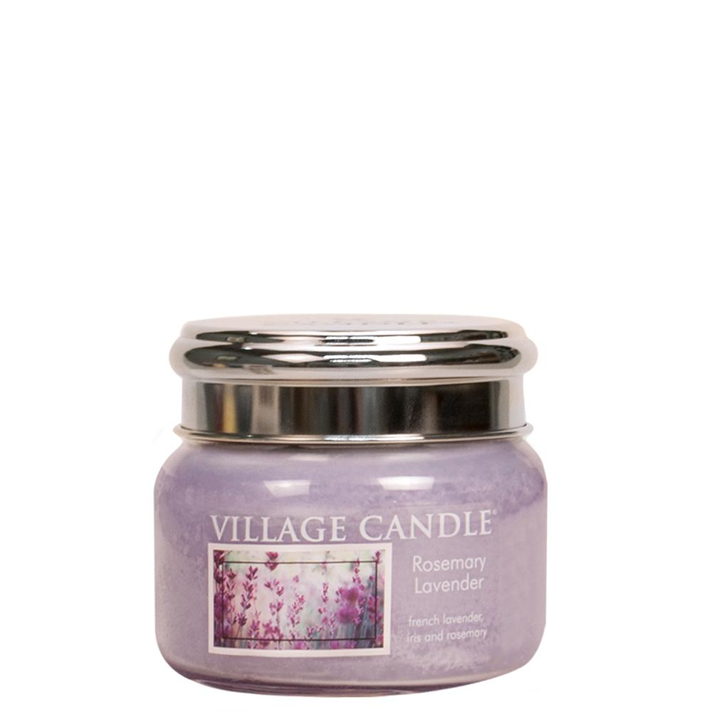 Rosemary Lavender Small Glass Jar Traditions Scented Candle