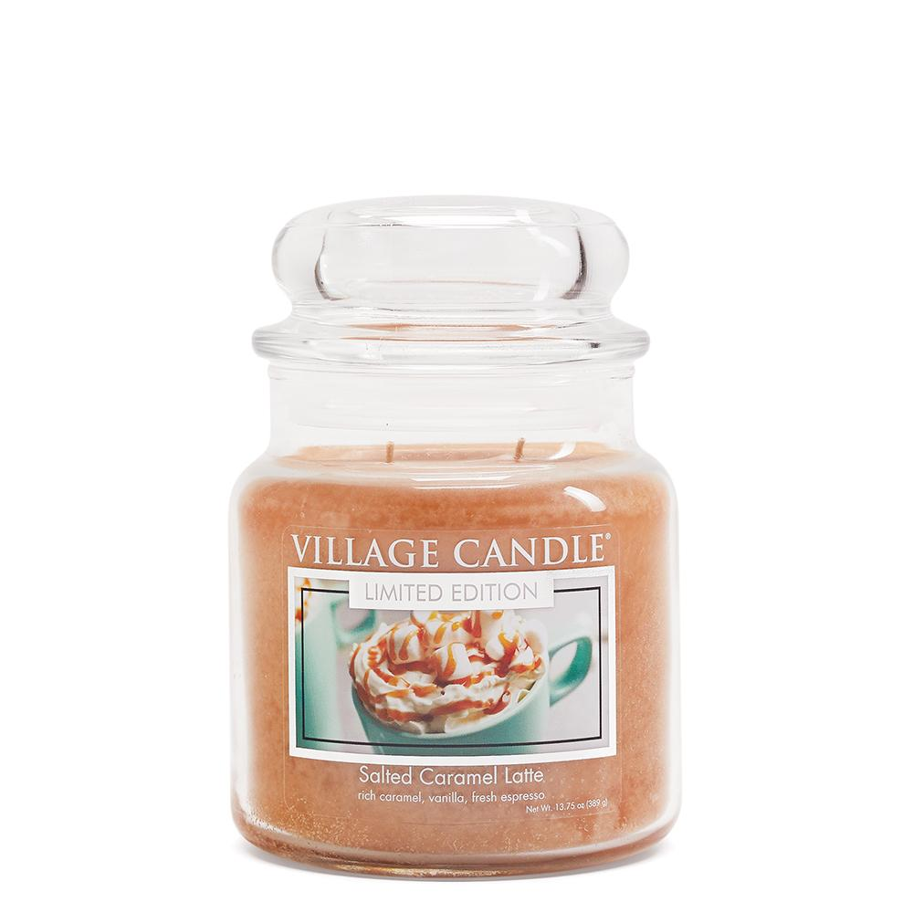 Salted Caramel Latte Medium Glass Jar Limited Edition ML