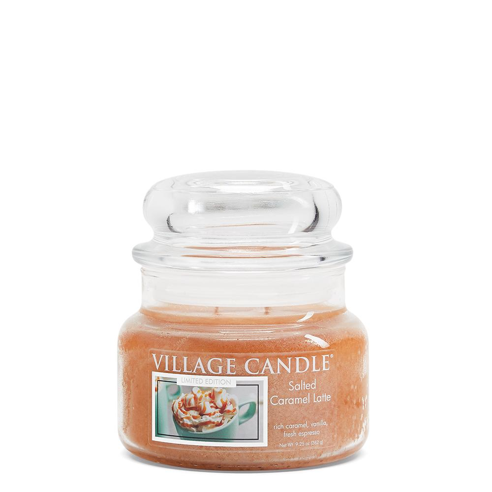 Salted Caramel Latte Small Glass Jar Limited Edition ML