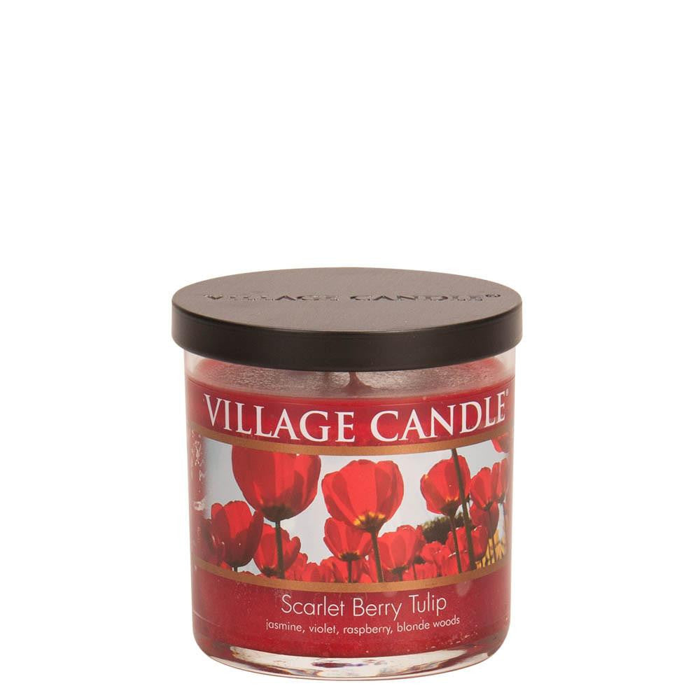 Scarlet Berry Tulip Small Tumbler Decor Scented Candle