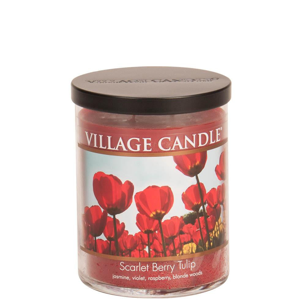 Scarlet Berry Tulip Medium Tumbler Decor Scented Candle
