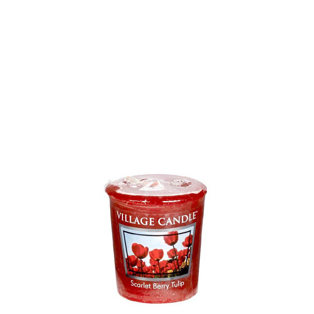 Scarlet Berry Tulip Votive Traditions Scented Candle