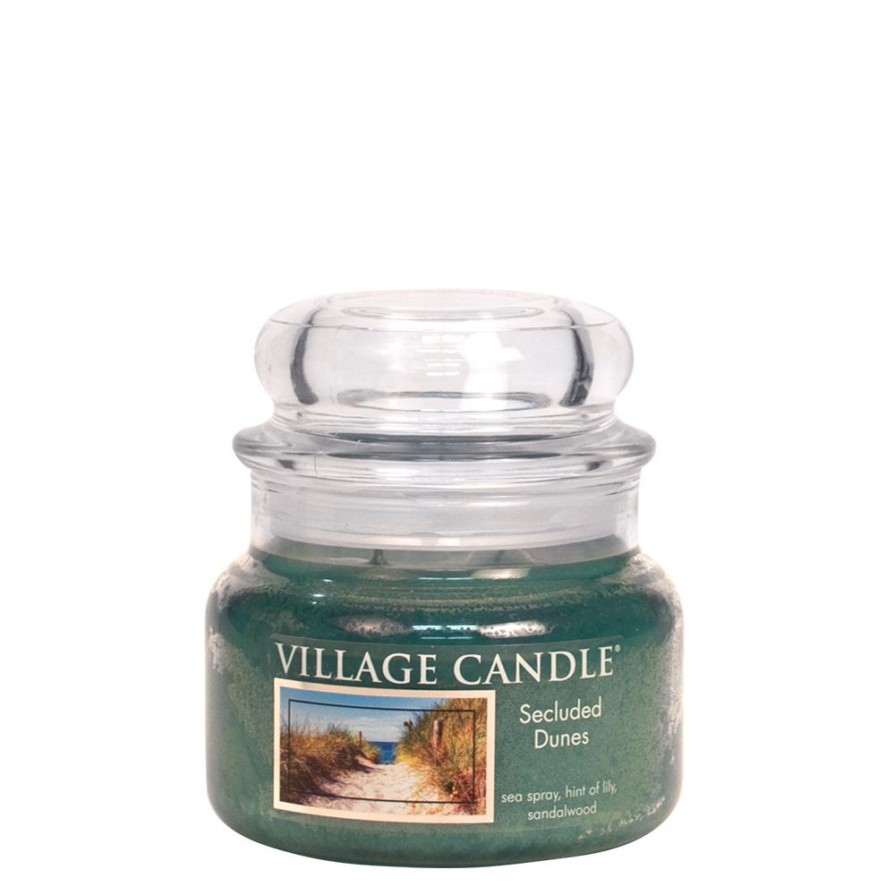 Secluded Dunes Small Glass Jar Traditions Floral Fragrance