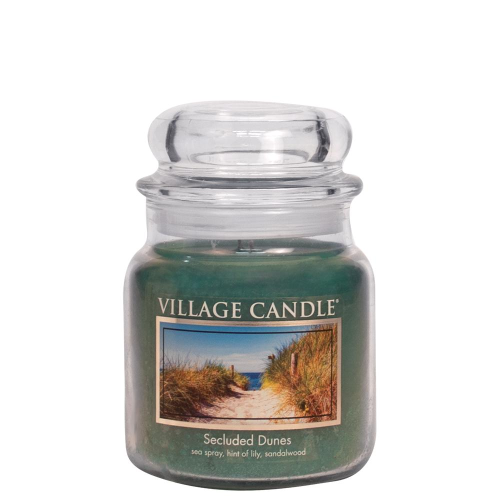Secluded Dunes Medium Glass Jar Traditions Floral Fragrance