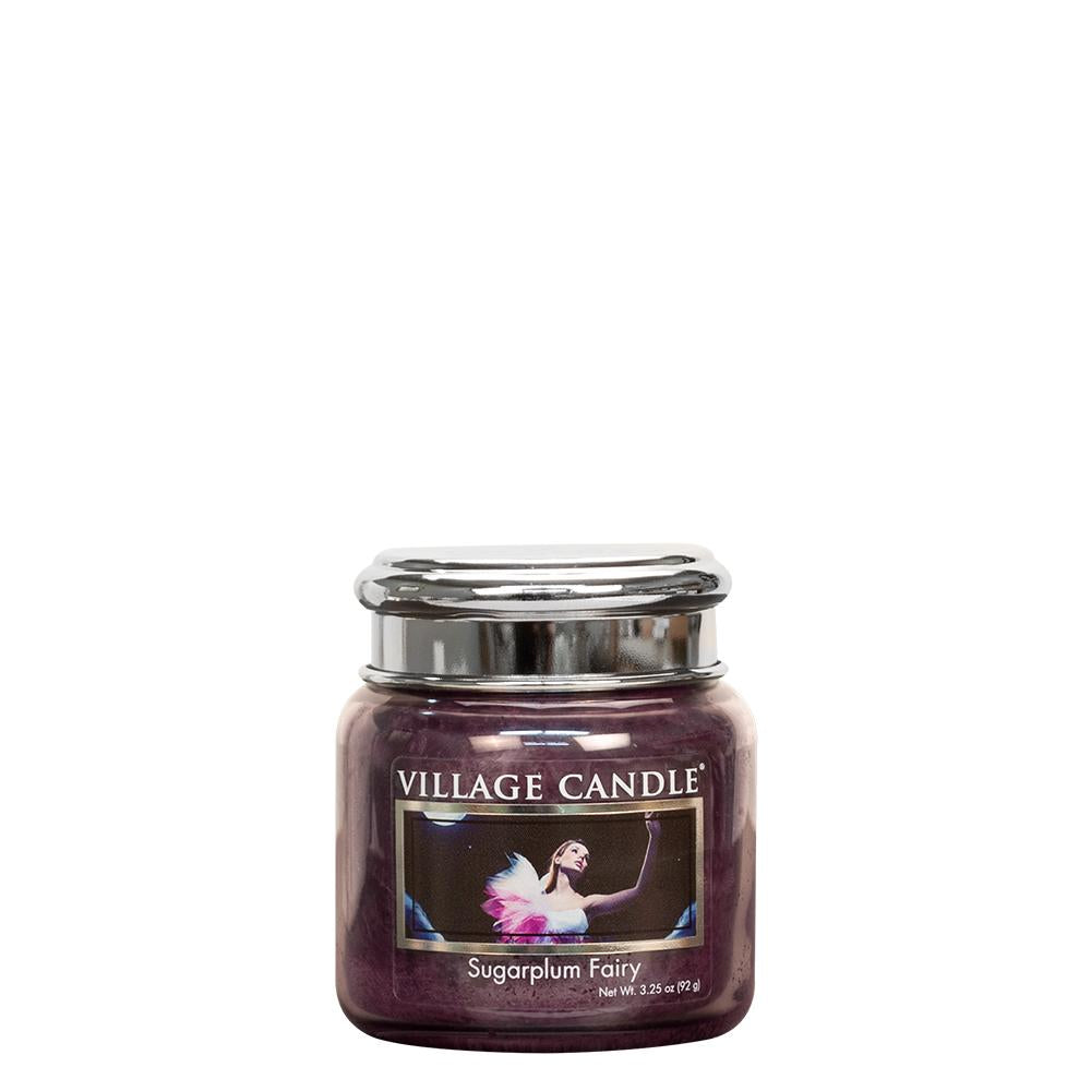 Sugarplum Fairy Petite Glass Jar Metal Lid