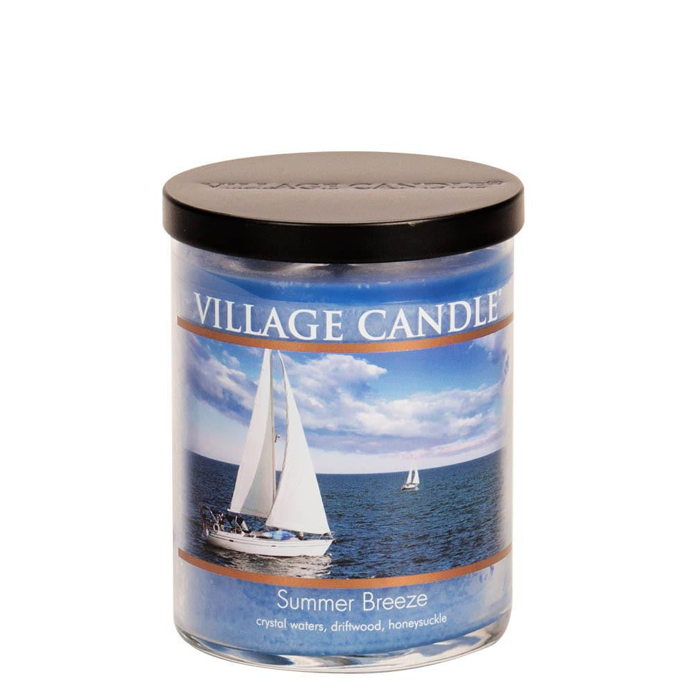 Summer Breeze Medium Tumbler Decor Scented Candle