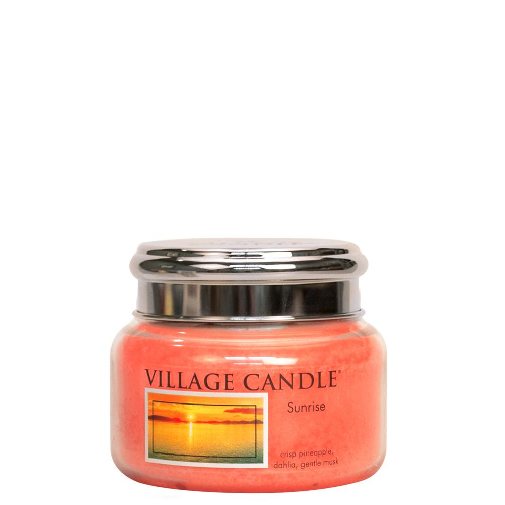 Sunrise Small Glass Jar Traditions Fresh Fragrance