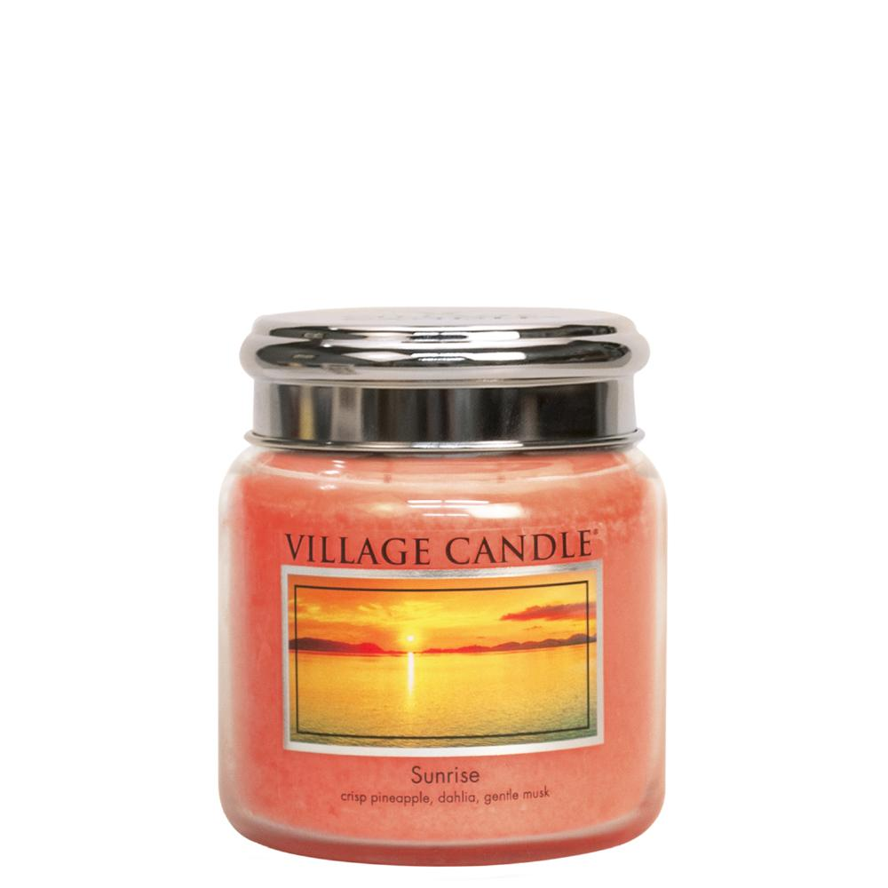 Sunrise Medium Glass Jar Traditions Fresh Fragrance