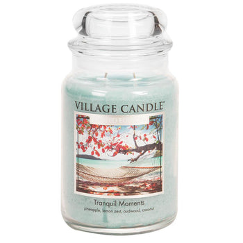 Tranquil Moments Large Glass Jar Limited Edition