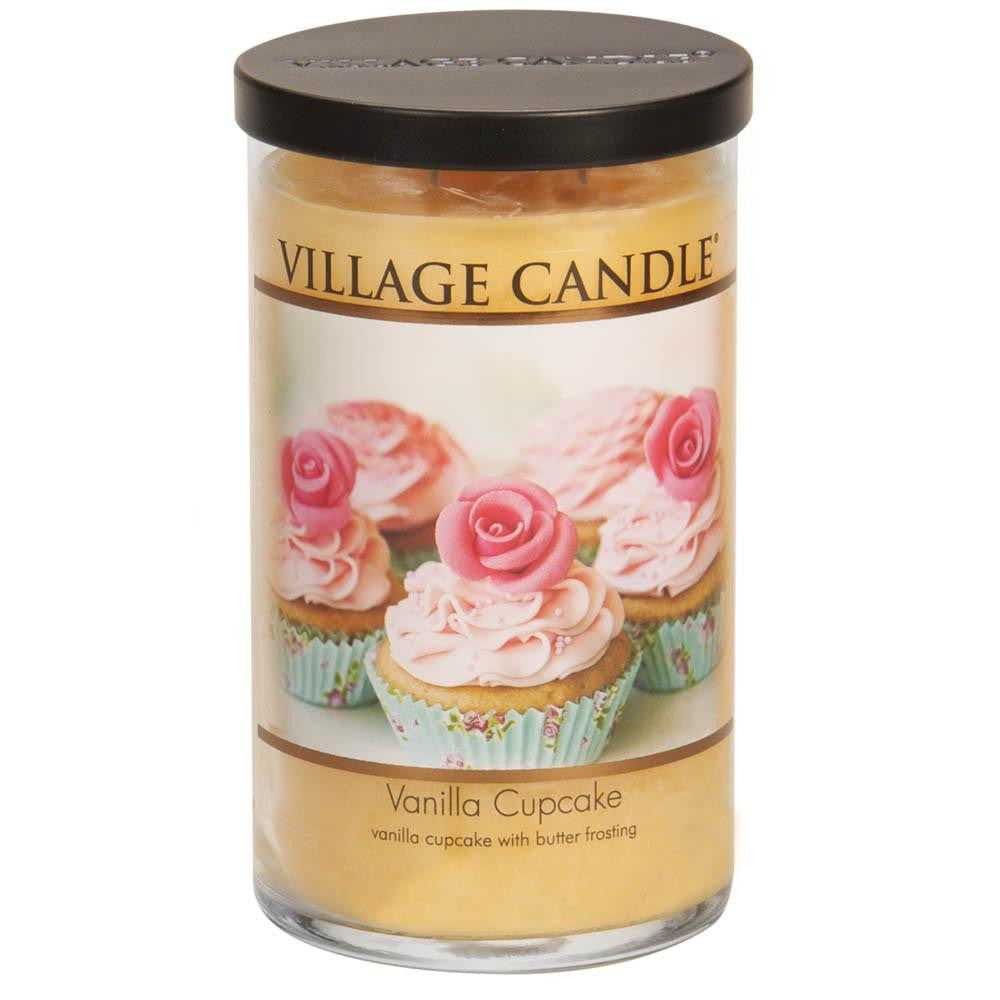Vanilla Cupcake Large Tumbler Decor Scented Candle