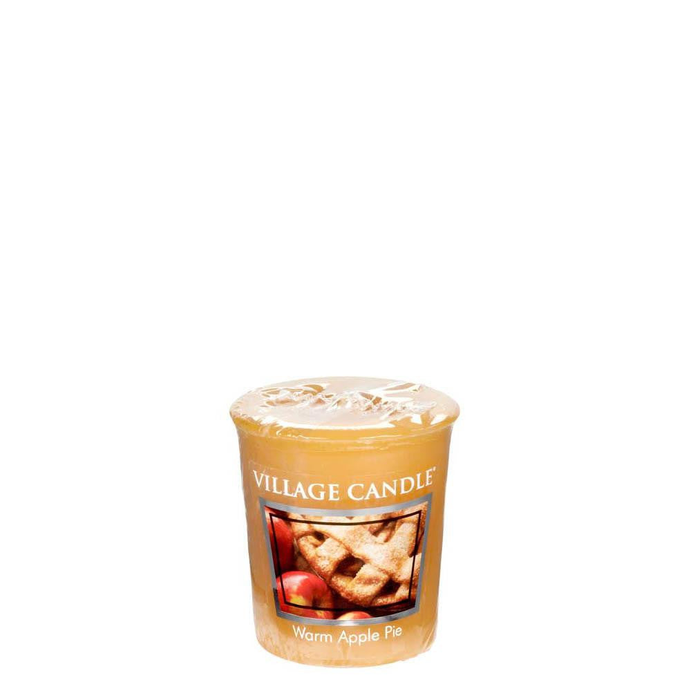 Warm Apple Pie Votive Traditions Scented Candle