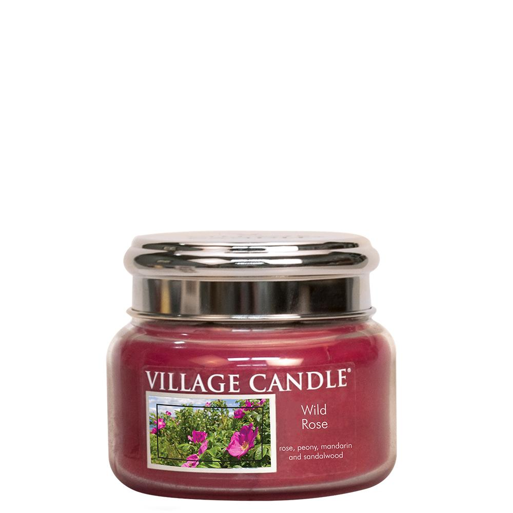 Wild Rose Small Glass Jar Traditions