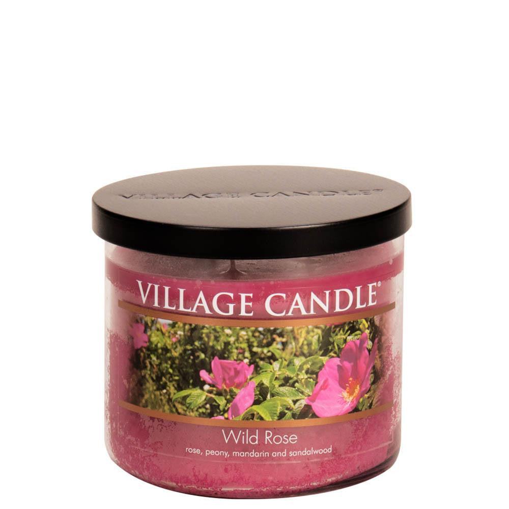 Wild Rose Medium Bowl Decor Scented Candle