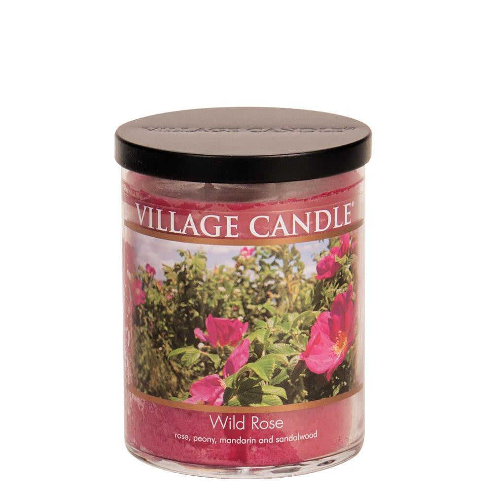 Wild Rose Medium Tumbler Decor Scented Candle