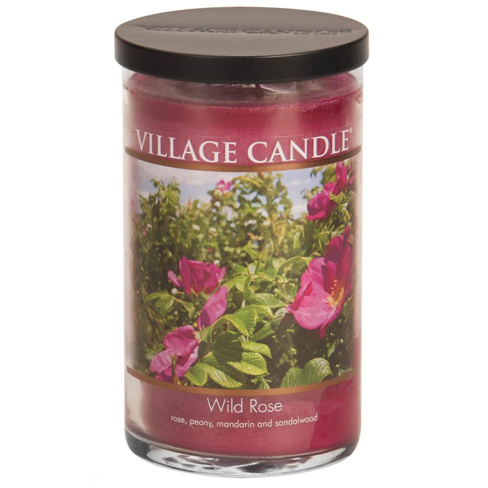 Wild Rose Large Tumbler Decor Scented Candle