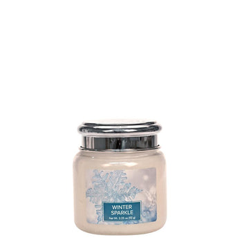 Winter Sparkle Petite Glass Jar Christmas