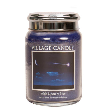 Wish Upon A Star Large Glass Jar Traditions Scented Candle