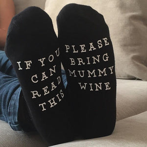 IF YOU CAN READ THIS PLEASE BRING MUMMY WINE