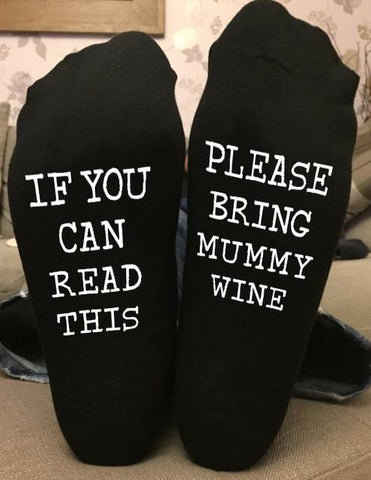 Image of IF YOU CAN READ THIS PLEASE BRING MUNNY WINE