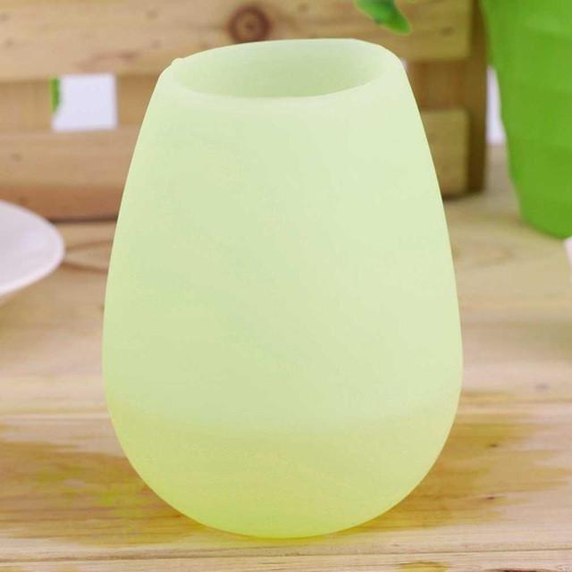 Outdoor Silicone Foldable/Unbreakable Wine Glasses