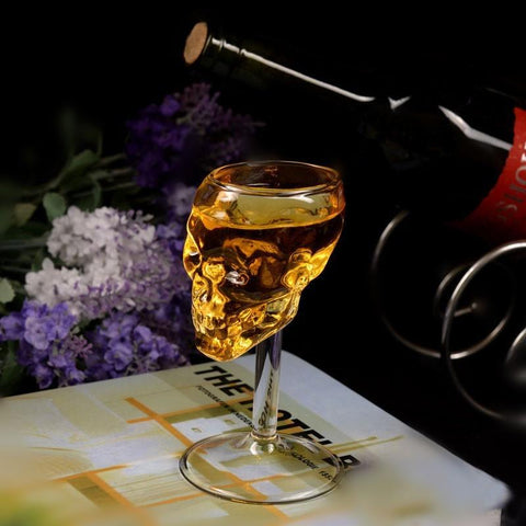 Image of Skull Wine Glass (2pcs)