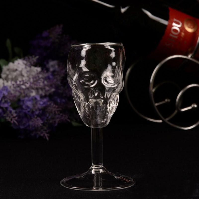Skull Wine Glass (2pcs)