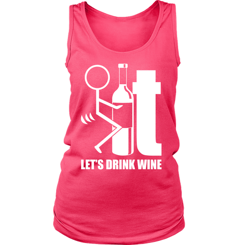 T-shirt - LET'S DRINK WINE