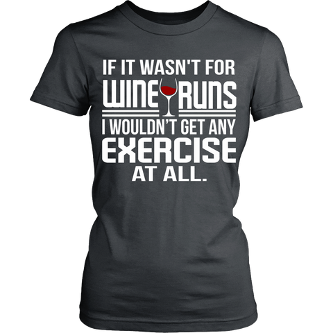 T-shirt - WINE RUNS