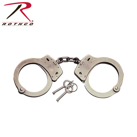 Smith & Wesson Handcuffs - Carbon Steel with Nickel Finish