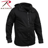 Rothco Black Tactical Zip Up Hoodie