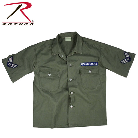 Rothco Vintage Air Force Short Sleeve BDU Shirt